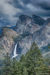 Yosemite  -  Bridalveil Fall, Just Before The Rain_HDR_5024_25