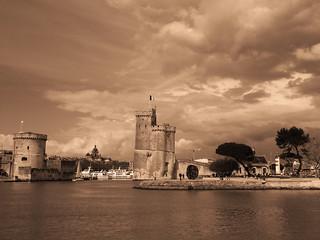 La Rochelle en sépia