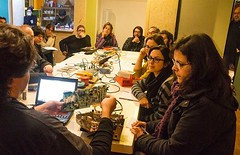 "Our classroom at ""Ora e sempre resistenza"" course - https://ift.tt/1rcFgXM #electronics #course #teaching #fun #arduino #trashware #recycling #radioamateurs #radio #diy #instanerd #computer #circuit #maker #laboratory #programmable #tech #tecnology #proje (Museo dell'Informatica Funzionante) Tags: musif miai freaknet dyneorg trasformatorio"
