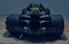 Batmobile - Front (Supremedalekdunn') Tags: lego batman batmobile dc comics stories group supremedalekdunn afterburner armour plating cowl cape bruce wayne
