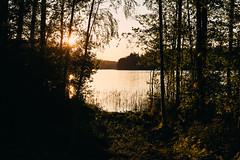 Hämeenlinna (Tuomo Lindfors) Tags: hämeenlinna finland suomi aulangonjärvi aulanko järvi lake vesi water aurinko sun auringonlasku sunset rni allfilms