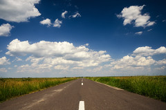Open road (Pásztor András) Tags: nature road sky clouds grass field open freedom dslr full frame nikon d700 andras pasztor photography 2018 hungary
