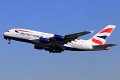 British Airways  Airbus A380-841 G-XLEB (widebodies) Tags: london heathrow lhr egll widebody widebodies plane aircraft flughafen airport flugzeug flugzeugbilder british airways airbus a380841 gxleb