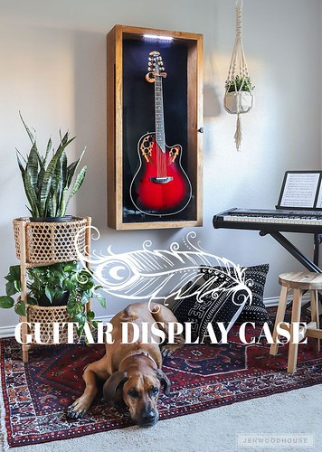Diy Crafts Ideas : How to make a DIY guitar display case with glass panel door and LED lightinghttps://is.gd/H41IZA