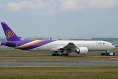 """Prabhasri / ประภาศรี"" Thai Airways International HS-TKM Boeing 777-3ALER cn/41522-1082 @ EDDF / FRA 02-04-2017 (Nabil Molinari Photography) Tags: prabhasriประภาศรี thai airways international hstkm boeing 7773aler cn415221082 eddf fra 02042017"