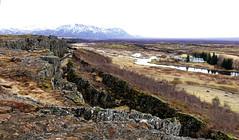 Þingvellir (** [ Im@ges in L ]) Tags: faille plaque parlement plaine roches techtonique unesco parc
