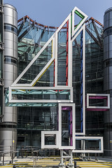 London HQ (devil=inside) Tags: handphotography london building structure architecture hq channel 4 television studios four ho outdoors sony a77