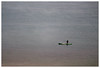085 of 365 - Negative space (Weils Piuk) Tags: fisherman fishing rod solitary minimalist lonely negative space lake water photoblog365 canoe