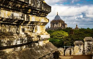 La terraza de la pagoda