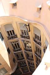 IMG_9478 La Pedrera (Casa Milà) (drayy) Tags: spain barcelona gaudi house apartment apartments building architecture lapedrera casamilà casamila antonigaudí gaudí