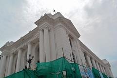 Gaddhi Baithak Under construction (clickforsmile) Tags: unesco gaddhi baithak basantapur kathmandu durbarsquare earthquake nepal landscape nikon d3100 architecture neoclassical kit 18554 1855