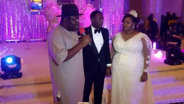 HSDickson- Wedding Of Jimi Agbaje's Daughter. Lagos. 12th Nov. 2016