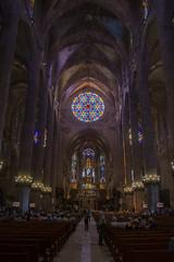 Cathedrale La Seu (explore) (Rudi Pauwels) Tags: spain spanien espana mallorca palmademallorca cathedral laseu cathedralelaseu temple indoor nikon d7100 nikond7100