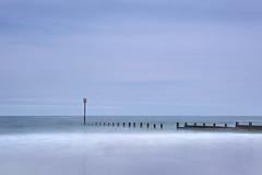 Groyne on Blyth Beach (aaronlambert1982) Tags: water sea seascape ocean northsea northumberland groyne longexposure blue blyth nikon nikond7100 leefilters bigstopper calm minimal tranquility peace nature