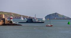 NRP Arpao 20th April 2018 #1 (JDurston2009) Tags: armadaportuguesa dieselelectricattacksubmarine nrparpao portugesenavy s161 ssk tridenteclass u209pn attacksubmarine devon hamoaze mountwise plymouth submarine warship