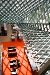 Seattle Public Library (J-CIO) Tags: 2018 analog film kodak leica leicam6 portra400 seattle