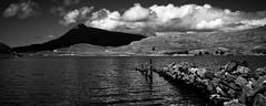 Loch Assynt (geraldkoenigsohn) Tags: canon60d reise schottland landschaft schwarzweis clouds light scotland lochassynt lake landscape blackandwhite
