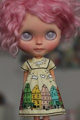 city in color (crafting with loove) Tags: blythe blythecustom blythedoll blythedress customblythe dollclothes dolldress doll
