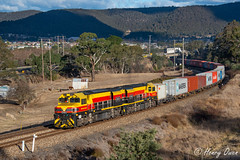 Bowenfels BRMs (Henry's Railway Gallery) Tags: brm002 brm001 brmclass emd diesel ssr southernshorthaulrailroad crl consolidatedrailleasing kelso containertrain freighttrain 1845 lithgow bowenfels