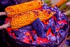 Street food (Rajavelu1) Tags: corn maize fire cooking colours art creative streetfood kodaikanal tamilnadu india artdigital