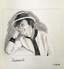 Un petit dessin pour patienter (349/3545) (chando*) Tags: 365 project365 croquis sketch dessin drawing cocochanelmademoiselle portrait graphite