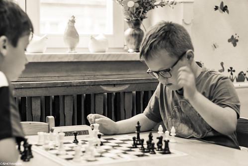 V Turniej Szachowy o Mistrzostwo Przedszkola Miejskiego Nr 1-33