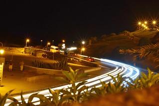 Luces en la noche #Nikon3400 #largaexposicion #Mardelplata #noche #costeando #luces #fastcar #solodenoche