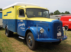 L312 (Schwanzus_Longus) Tags: bockhorn german germany old classic vintage vehicle truck lorry box mercedes benz l312 l 312
