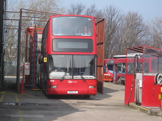 Go North East 6019 (V319 LGC). Saltmeadows Road Depot, Gateshead