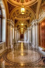 Library of Congress Hallway (The Hath Family) Tags: washingtondc libraryofcongress hallway architecture usa congress hdr canon6d eos memorialday america library