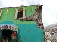 Road Marigot - Roseau (UNEP Disasters & Conflicts) Tags: hurricane disaster devastation