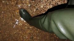 At the beach (essex_mud_explorer) Tags: hunter streamfisher green rubber thigh hip boots waders gates madeinscotland madeinbritain cuissardes watstiefel gummistiefel rubberlaarzen bottes