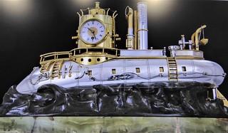 Evanston, IL, Halim Time & Glass Museum, Submarine Clock