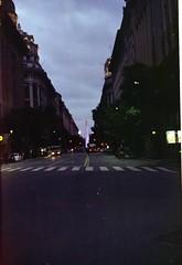 Obelisco al Anochecer - Buenos Aires - Argentina (Juansette) Tags: praktica mtl film 35mm kodak proimage auto argentina analog buenos aires obelisco
