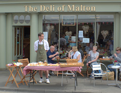 Malton Food Lovers Festival 2018 - deli stall (Tony Worrall) Tags: malton food lovers festival 2018 maltonfoodloversfestival2018 yorkshire yorks event stalls show items sale goods annual foodie britain english british gb capture buy stock sell outside outdoors caught photo shoot shot picture captured england regional region area northern uk update place location north visit county attraction open stream tour country candid shoppers people thedeliofmalton cafe deli