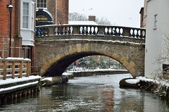 2018 03 18 019 KA Canal, snow (Mark Baker.) Tags: 2018 avon baker berkshire eu europe kennet kennetandavon march mark newbury bridge britain british canal cold day england english european gb great kingdom outdoor photo photograph picsmark snow spring town uk union united urban