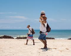 Hat Guy (Cheryl3001) Tags: mexico hat guy man beach puerto moreles iberostar paraiso grand
