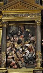 Astorga (León-España). Catedral. Retablo Mayor de 1584, obra de Gaspar Becerra. Adoración de los Magos (santi abella) Tags: astorga león castillayleón españa catedraldeastorga retablos
