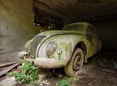 IFA F9 (david_drei) Tags: lost car vergessen ifa f9 auto autofriedhof decay sundaycarpic