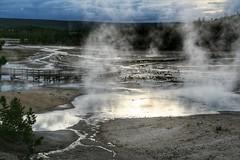 Norris geyser basin (__Thomas Tassy__) Tags: norris basin acid yellowstone national park usa may 2018 thomas tassy amazing twilight night sunset awesome great water landscape outstanding light sky cloud reflection