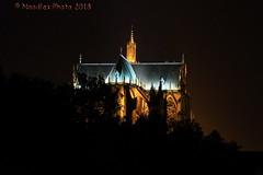 Kathedrale von Metz - Metz Cathedral (Noodles Photo) Tags: kathedralesaintétienne metz france frankreich lothringen lorraine kathedralevonmetz metzcathedral nachtaufnahme nightshot lalanternedubondieu gebäude canoneos7d ef24105mmf4lisusm