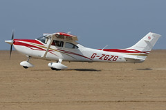 G-ZGZG (QSY on-route) Tags: gzgzg lancashire landing 2018 fly in knott end beach airfield 09062018