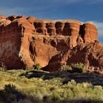 Lights and Shadows Cast Across the Utah Landscape (Arches National Park) thumbnail