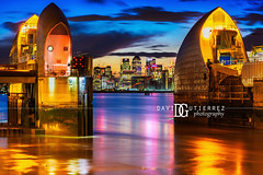 Thames Barrier (III), London, UK (davidgutierrez.co.uk) Tags: london photography davidgutierrezphotography city art architecture nikond810 nikon urban travel color night blue uk londonphotographer photographer england unitedkingdom europe beautiful cityscape davidgutierrez britain greatbritain d810 street arts summer skyline buildings nikon2485mmf3545gedvrafsnikkor nikon2485mm iconic landmark people property 伦敦 londyn ロンドン 런던 лондон londres londra capital structure building river riverthames lowtide colors colourful colours colour streets attraction thames thamesriver eastlondon silvertown industrialiseddistrict bluehour twilight dusk lights light reflection longexposure thamesbarrier floodbarrier newcharlton amazing canarywharf le contemporary modern