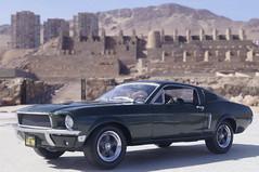 1968 Ford Mustang GT Bullitt Steve McQueen´s 1/24 diecast made Greenlight (rigavimon) Tags: diecast miniaturas 124 1968 ford mustang bullitt stevemcqueen´s greenlight