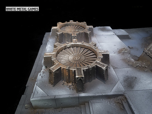 Forgeworld Sector Imperialis Board - a photo on Flickriver