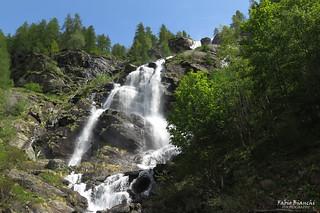 Cascata dell'Acqua Bianca (Wisswasserfall) - Parco Naturale Alta Valsesia