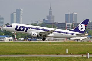 LOT Polish Airlines Embraer ERJ-170-200STD SP-LIL WAW 19-05-18