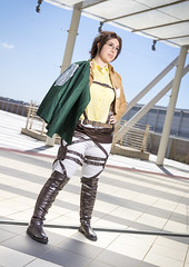 _MG_7167 (Mauro Petrolati) Tags: romics 2018 attack titan shingeki no kyojin cosplay cosplayer beatrice hanji zoe