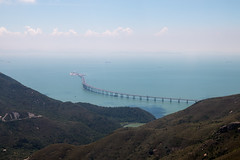 The longest bridge of the world - Hong Kong to Macao - Opening 2018 (Didhle) Tags: bridge macao hongkong lantau island isle hk longest sea blue bluesea wild park